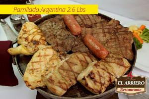 Parrillada Argentina 2.6 Lbs
