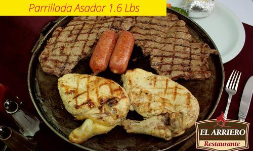 Parrillada Asador 1.6 Lbs