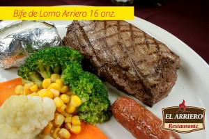 Bife de Lomo Arriero 16onz