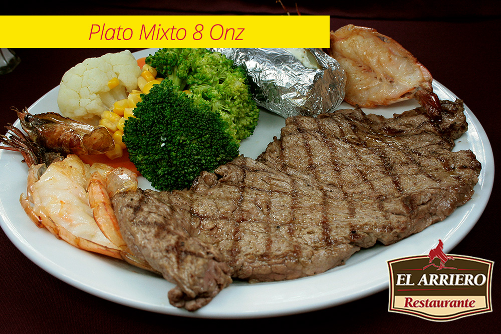 Plato Mixto 8 Onz