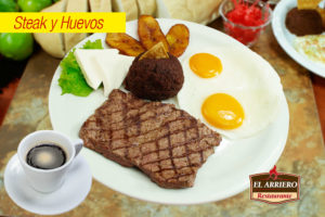 Steak y Huevos - Exquisitos desayunos el salvador