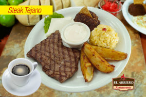 Steak Tejano - Desayunos a Domicilio El Salvador