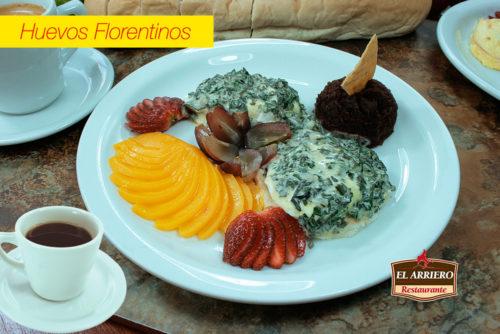 Huevos Florentinos - Desayunos El Salvador