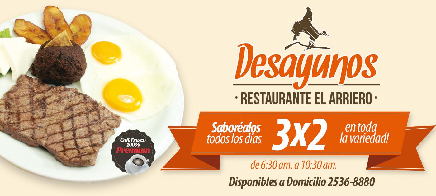 Desayunos El Arriero