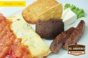 Omelette El Arriero