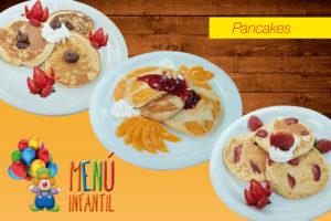 Pancakes - Desayunos Infantiles