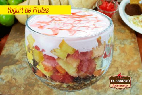 Yogurt de Frutas