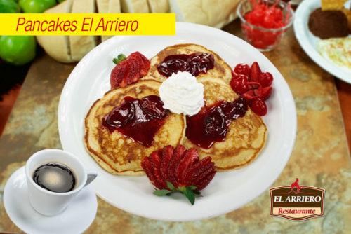 Pancakes - Desayunos El Salvador